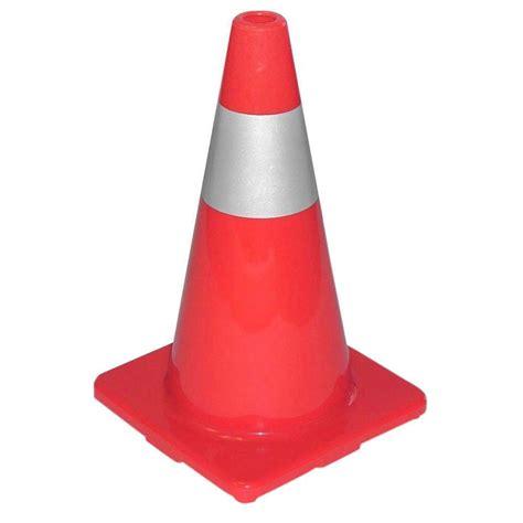 Es Cone tatco sturdy molded reflective traffic cone tco25500 the