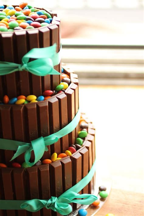 cake decorating images  pinterest cake decorating conch fritters  kit kat bars