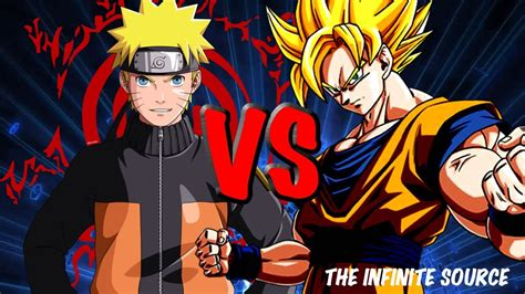 imagenes de naruto vs goku rap goku vs naruto the rap battle youtube
