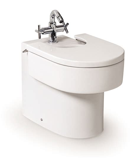 bidet cover roca happening back to wall bidet with cover