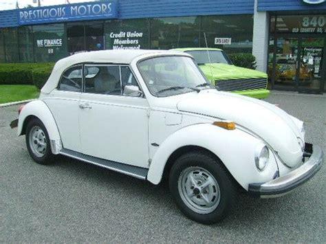find   volkswagen super beetle convertible white  white  riverhead  york united