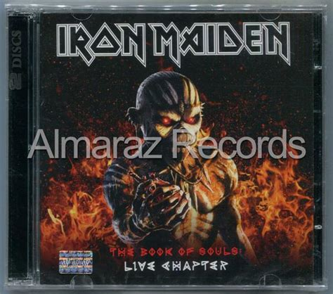 Cd Iron Maiden The Book Of Soul 2cd Original iron maiden the book of souls live chapter 2cd