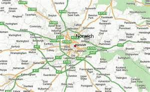 Norwich England Map by Norwich Location Guide
