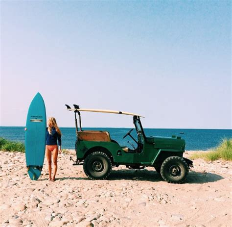 vintage surf car vintage surf car surfing jeep loserpirate