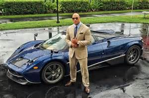pagani huayra is the latest supercar dwayne johnson can t fit in