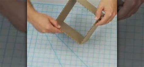How To Make A 3d Cube Out Of Paper - how to build a six inch cube out of cardboard 171 sculpture