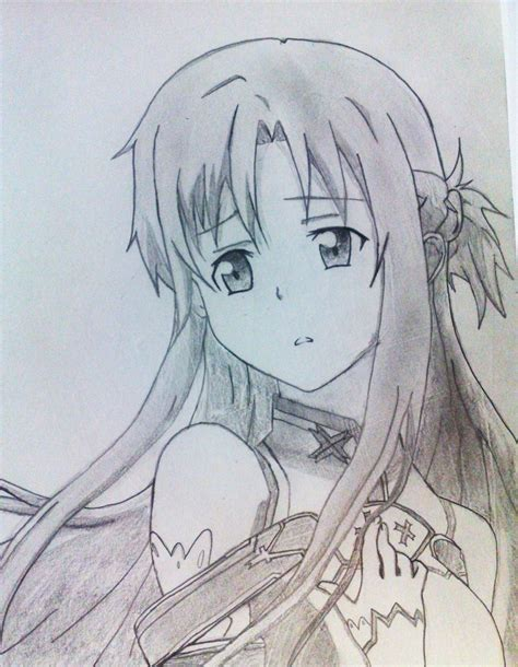 design art online sword art online asuna by tyl3r97 on deviantart