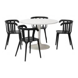 docksta ikea ps 2012 table and 4 chairs ikea