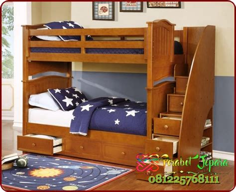 Daftar Ranjang Kayu Tingkat harga tempat tidur tingkat susun terbaru jual ranjang