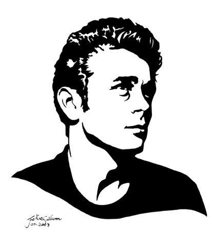 james dean by jackieocean on deviantart