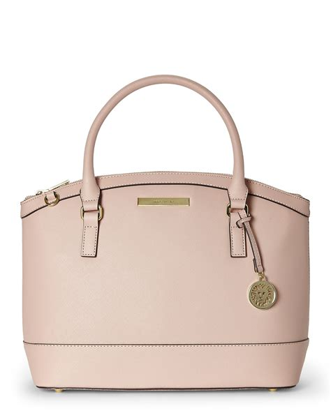 blush colored purses klein blush new recruits satchel in pink lyst