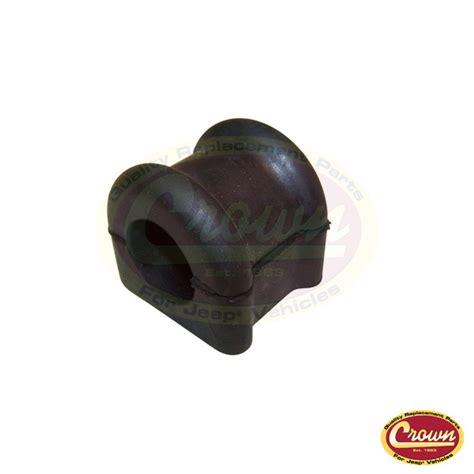 Cushion Stabilizer by Front Stabilizer Roll Bar Cushion Tj 52088378