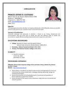Job Interview Resume Pdf by Job Cv Resume Templates Examples Resume Sample For Job