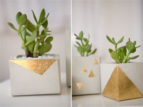 Ideas Design For Cement Planters Concept 34 Cool And Modern Diy Concrete Projects