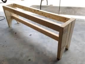 farmhouse bench diy farmhouse bench free plans rogue engineer