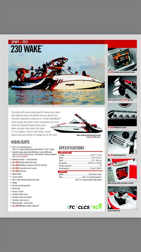 sea doo wake 230 jet boat sea doo 230 wake 2012 for sale for 10 000 boats from