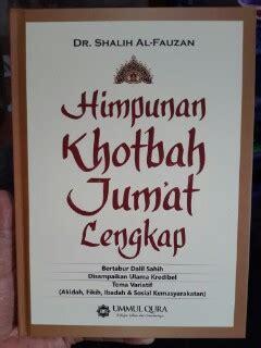 Pedoman Hidup Harian Seorang Muslim 1 buku himpunan khotbah jum at lengkap toko muslim title
