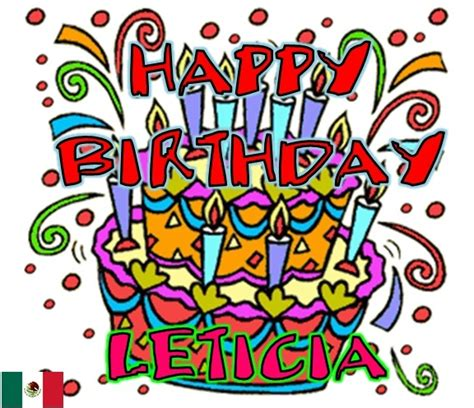 imagenes de happy birthday lety happy birthday leticia