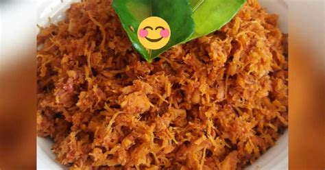 resep abon ayam oleh yulinn cookpad
