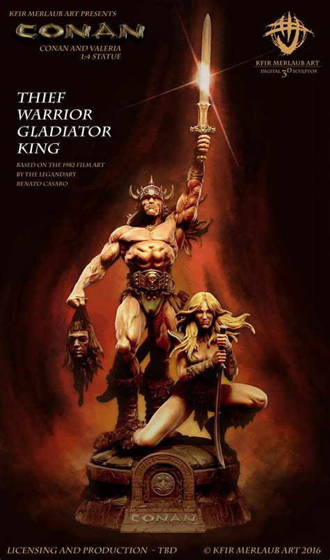 film gladiator resume kfir merlaub conan thief warrior gladiator king
