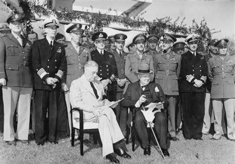 meeting casa 14th january 1943 churchill and roosevelt meet at casablanca
