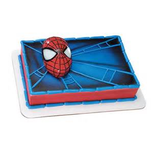 spiderman light up eyes cake kit pure decadence cake and party supplies