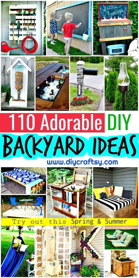 backyard science experiments list 110 diy backyard ideas to try out this spring summer