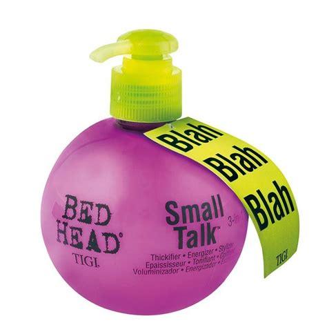 bed header tigi bed head small talk