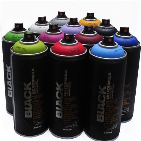 montana black 400ml popular colors set of 12 graffiti