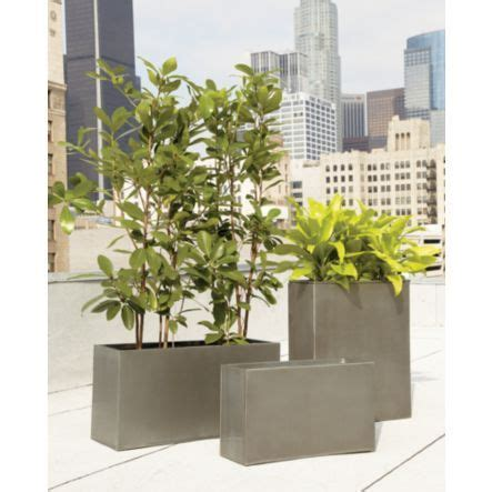 Rectangular Galvanized Planter by 17 Best Images About Galvanized Planters On