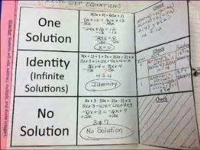 multi step equations with no solution and identity equation
