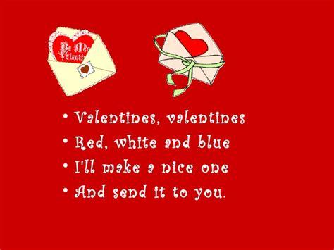 valentines rhymes rhymes