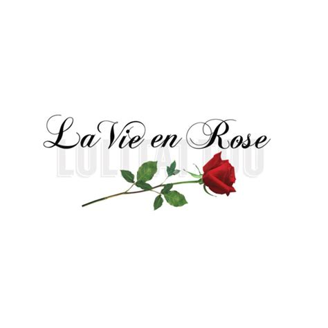 la vie en rose tattoo la vie en search tattoos
