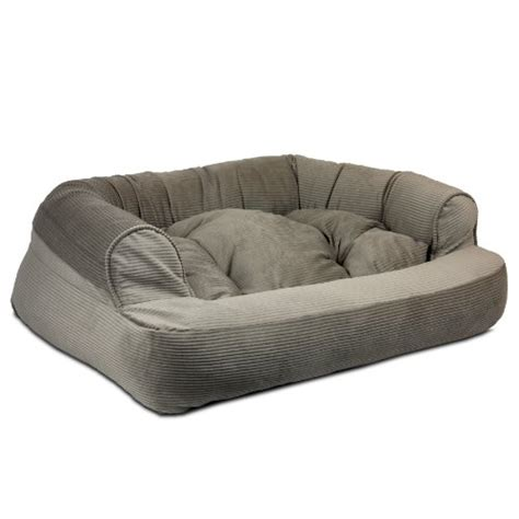 snoozer luxury overstuffed sofa snoozer overstuffed luxury pet sofa x large toro cocoa