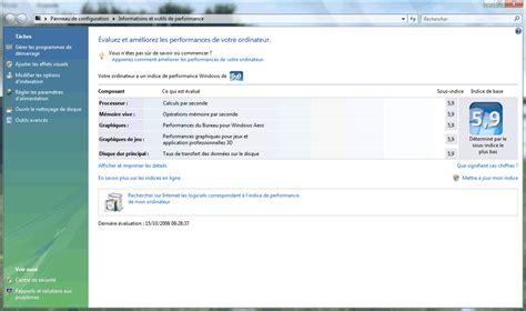 Modification De Société by Modifier L Indice De Performance Sous Windows Vista 224