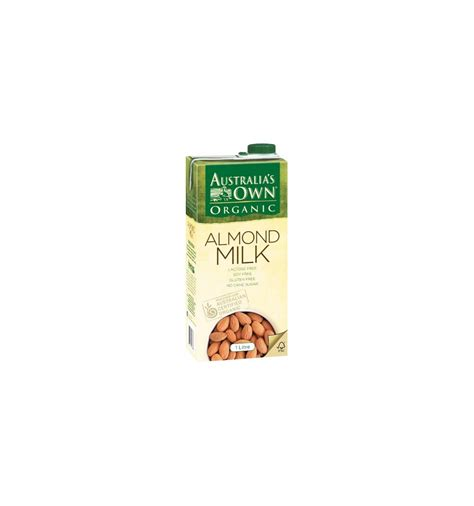 Halal Almond Milk Australia Australias Own Organic Almond australia s own organic almond milk 1l from supermart ae