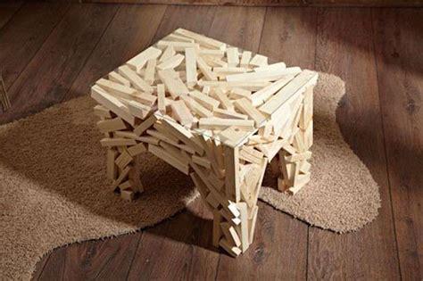 comodini strani tavolini salotto in materiale da riciclo foto 25 40