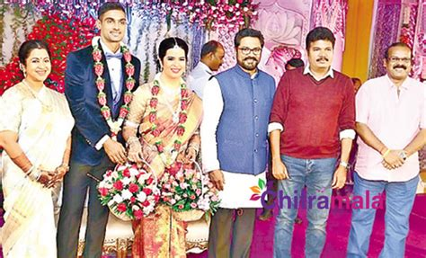 actress radhika sarathkumar daughter radhika s daughter marries cricketer boyfriend