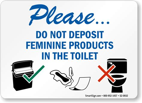Sign Label Do Not Deposite Sanitaty Napkins Paper Towel In Toilet feminine hygiene signs do not deposit sanitary napkins