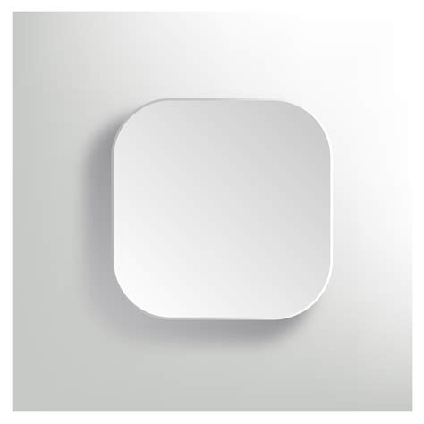 icon template vector white blank button app icon template free vector