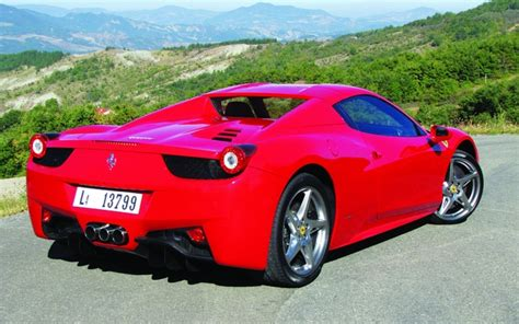 2013 458 italia price engine technical