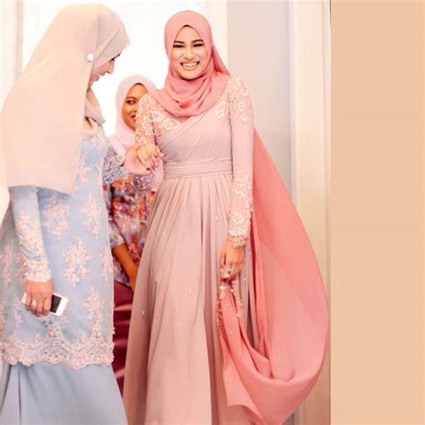 Popular Long Sleeve Muslim Dress Buy Cheap Long Sleeve