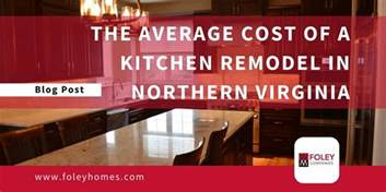what is the average cost to remodel a bathroom the average cost of a kitchen remodel in northern virginia