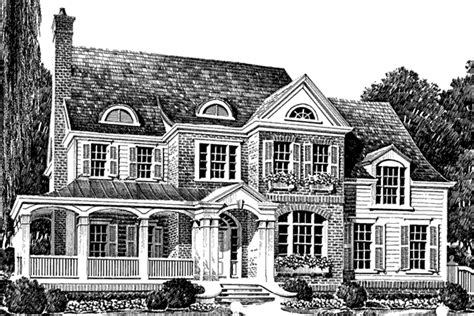 Mitchell House Southern Avenues Southern Living House Southern Avenues House Plans