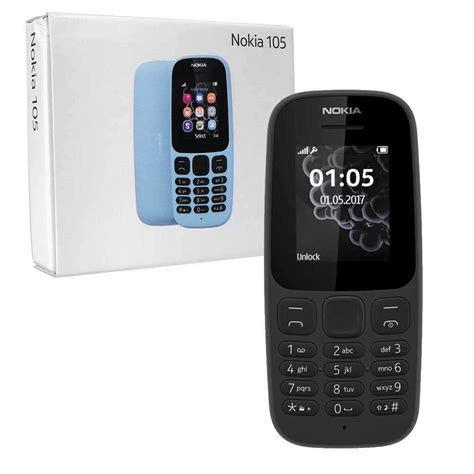Nokia 105 New By Magpiesstore by Nokia 105 Sim Free Mobile Phone Unlocked 7dayshop