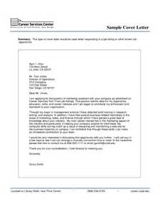 Cover Letter For Marketing Assistant by Marketing Cover Letter Exles 2 Free Templates In Pdf