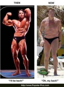 pictures arnold schwarzenegger young and old