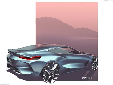 8 Series Sketches by Bmw 8 Series Concept 2017 Auto Design Car Design
