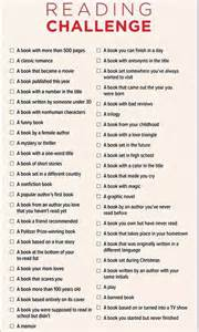 a reading challenge for 2015 julie stroebel barichello