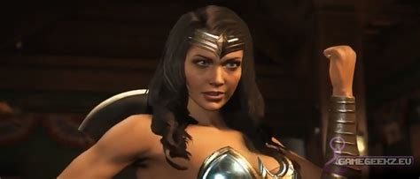 imagenes de wonder woman injustice injustice 2 wonder woman has improved gamegeekz